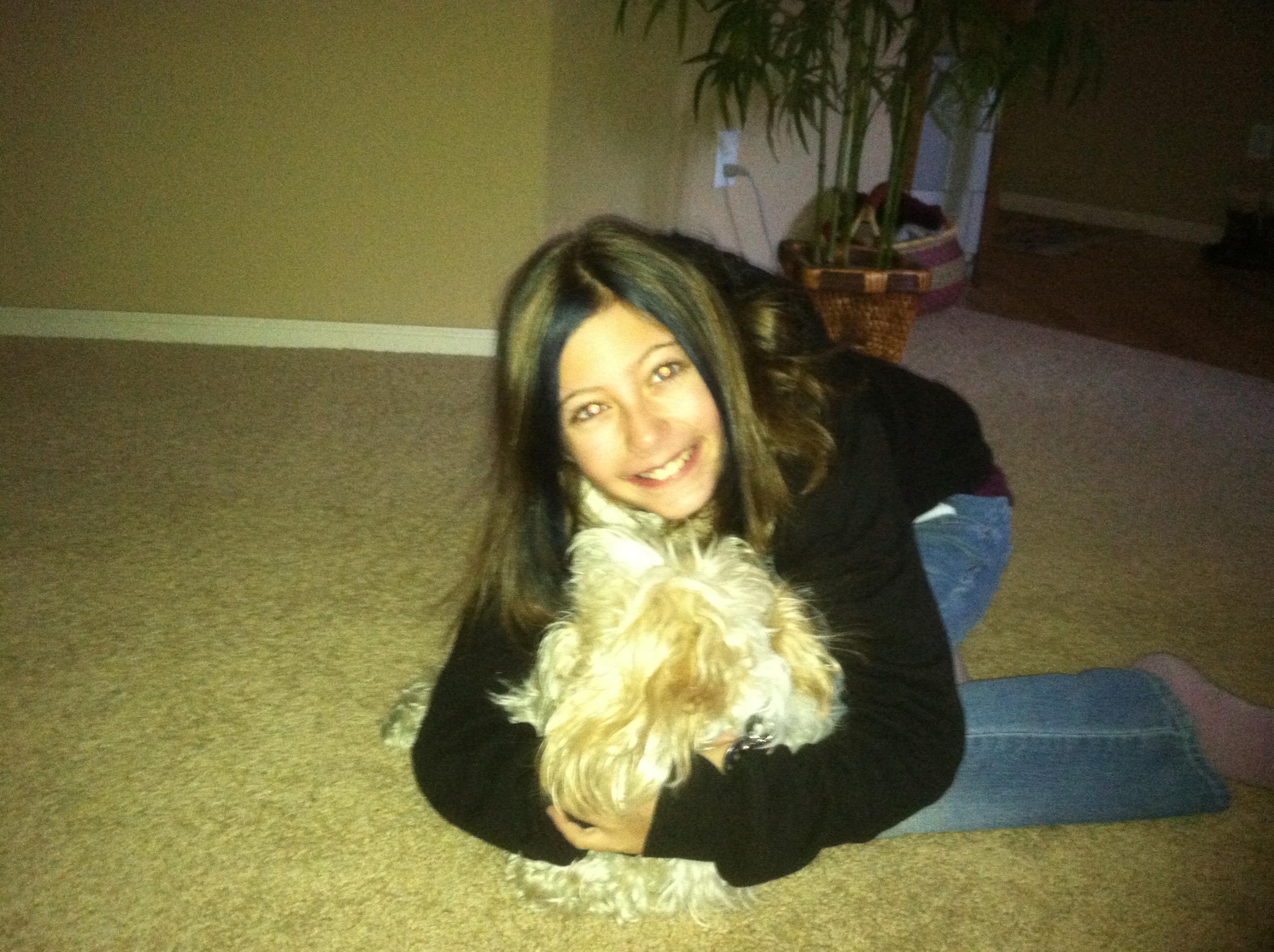Kaya with Bella 2-11-2013