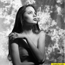 Angelina Jolie at 16