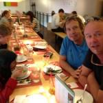 Christoph, Stefan, Noah and me at Japanese Restaurant in Hamburg