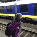 Kaya Waiting for the Train to Amsterdam